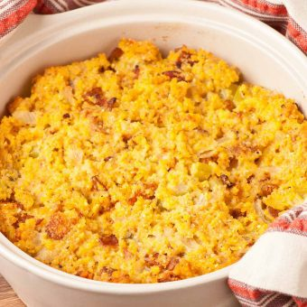Savory Corn Bread Stuffing