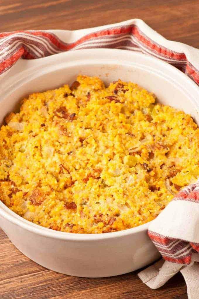 Savory Corn Bread Stuffing