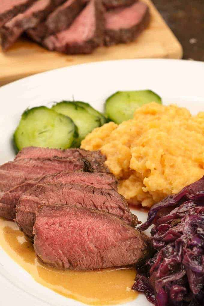 Scandinavian Roasted Venison Tenderloin Recipe