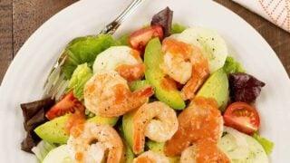 Shrimp Cocktail Salad