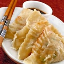 Shrimp and Pork Pot Stickers