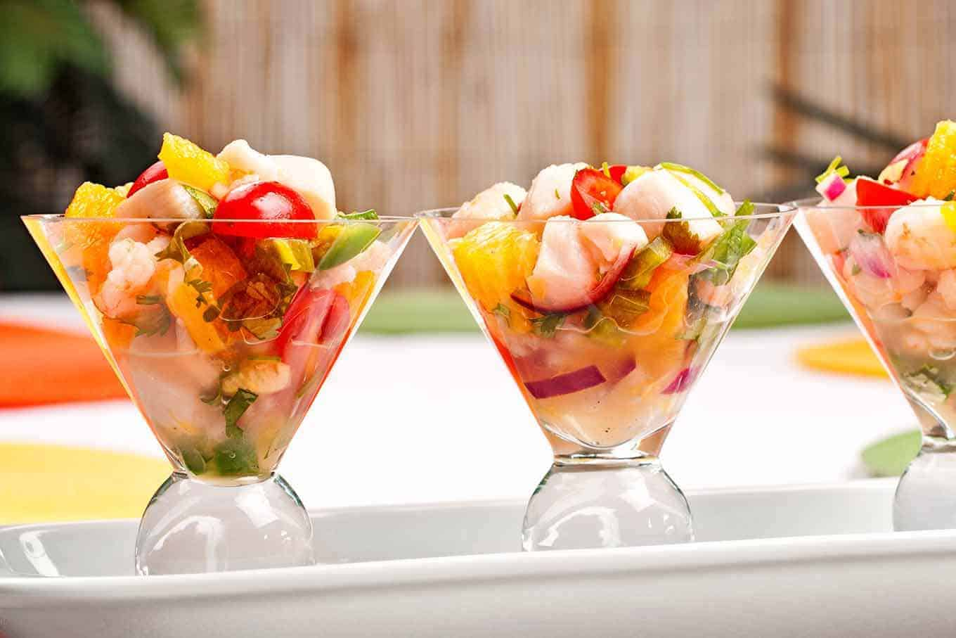Shrimp and scallop ceviche with tequila recipe for Easy tequila recipes