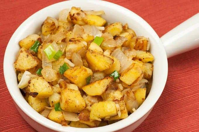 Skillet-Browned Potatoes and Onions