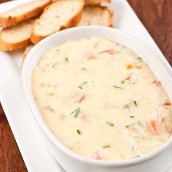 Smoked Fish and Dubliner Cheese Dip