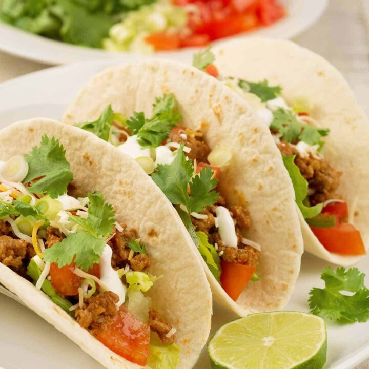 Soft Turkey Tacos