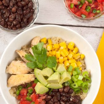 Southwest Chicken Quinoa Bowl