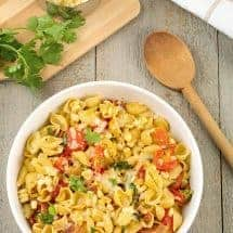 Southwest Chipotle Pasta Bowl