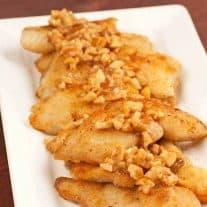 Spicy Honey-Cashew Catfish