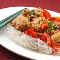 Stir-Fried Chicken With Jalapeno And Mint