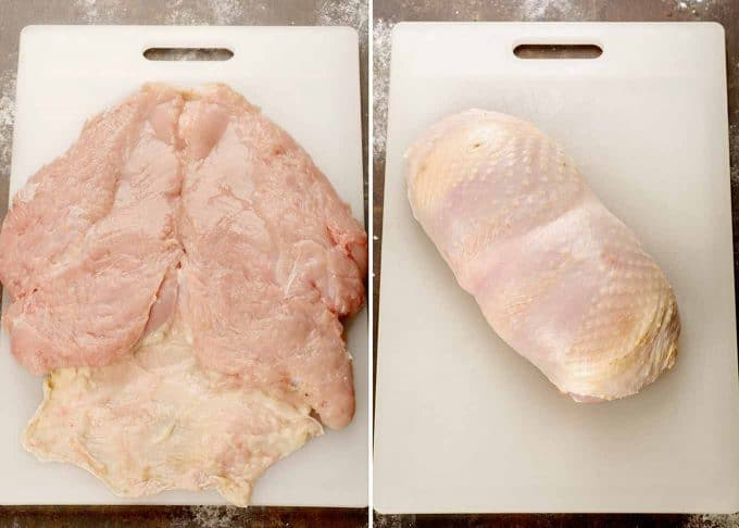Fine Cooking Magazine has an excellent how-to video on boning a turkey  breast. (Click here).