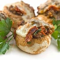 Stuffed Mushrooms Italian-Style