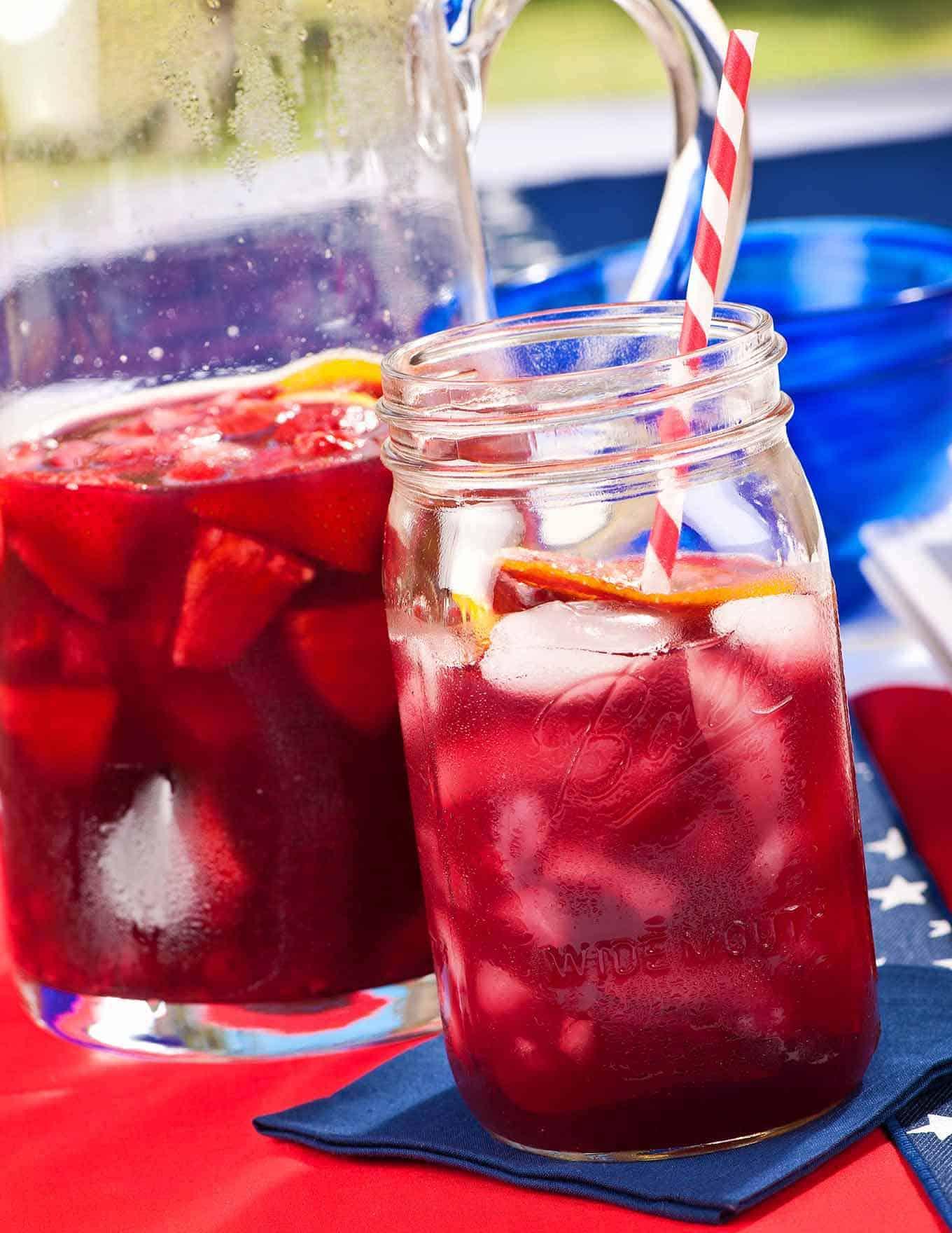 Summer Berry Sangria