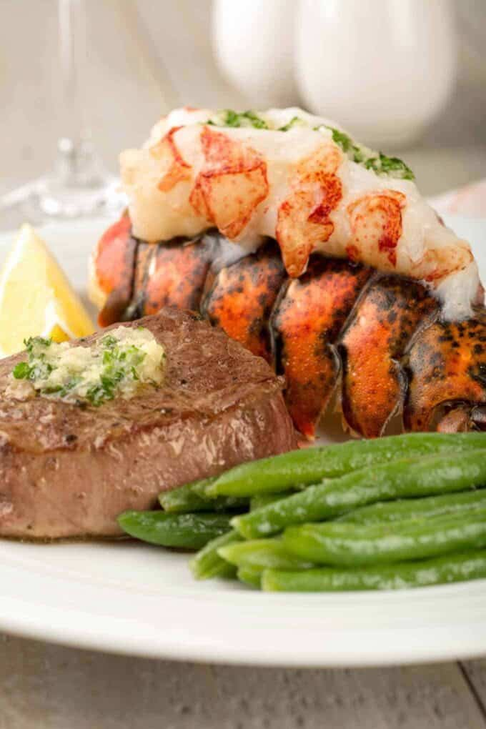 Surf And Turf Dinner Party Ideas Part - 15: Surf And Turf Dinner For Two