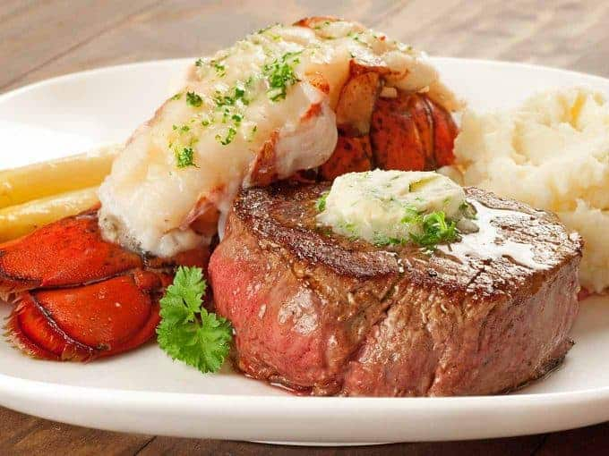 Elegant Surf And Turf Dinner For Two