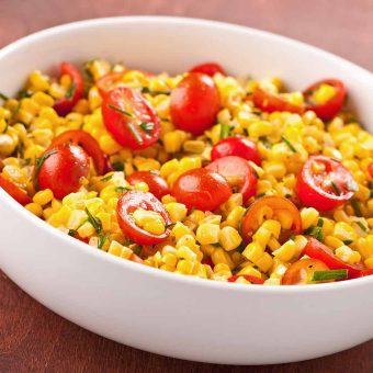 Sweet Corn and Tomato Salad