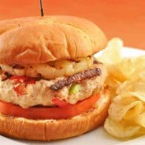 Sweet and Sour Chicken Burgers
