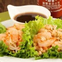 Sweet and Spicy Shrimp Lettuce Wraps