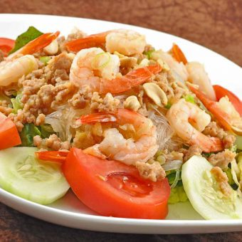 Thai Crystal Noodle Salad
