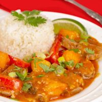 Thai Mango Curry Duck