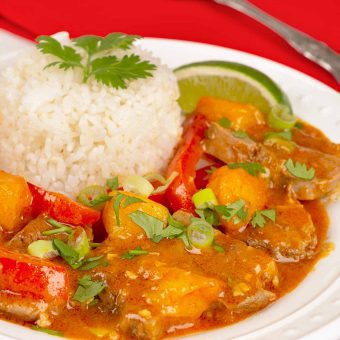 Thai Mango Curry Duck