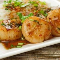 Thai Sweet Chili and Orange Scallops