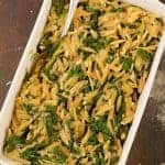 Toasted Garlic and Spinach Orzo