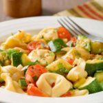 Tortellini with Spicy Zucchini and Tomatoes
