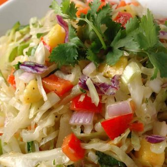 Tropical Cabbage Slaw