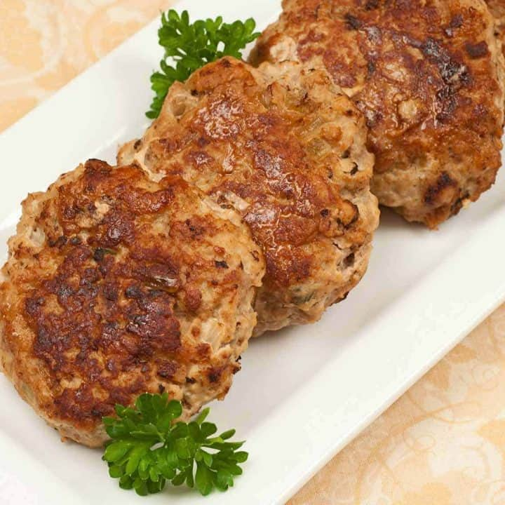 Turkey Meatloaf Patties