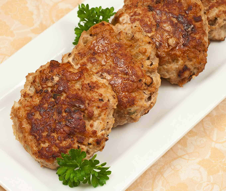 Turkey Meatloaf Patties