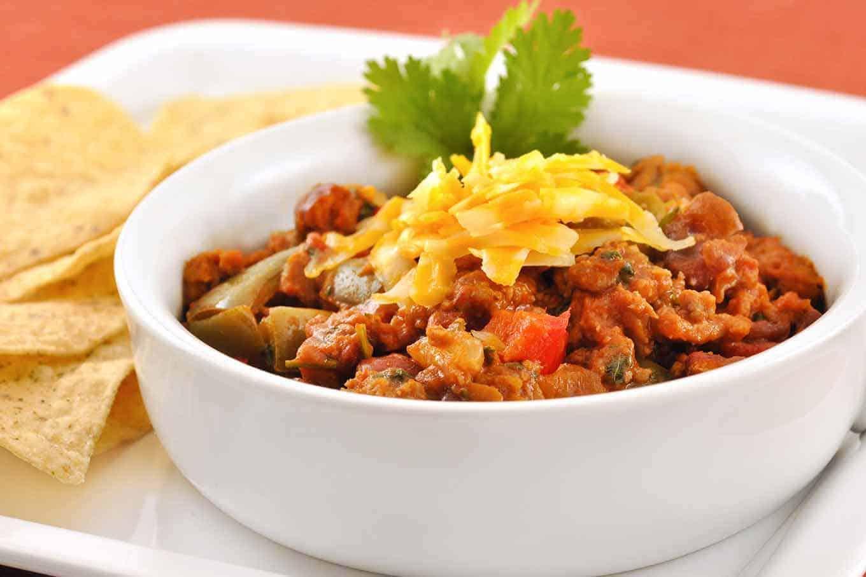 Turkey Sausage Chili