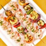 Tuscan Shrimp and Vegetable Kabobs
