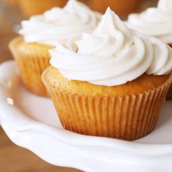 Vanilla Spice Cupcakes