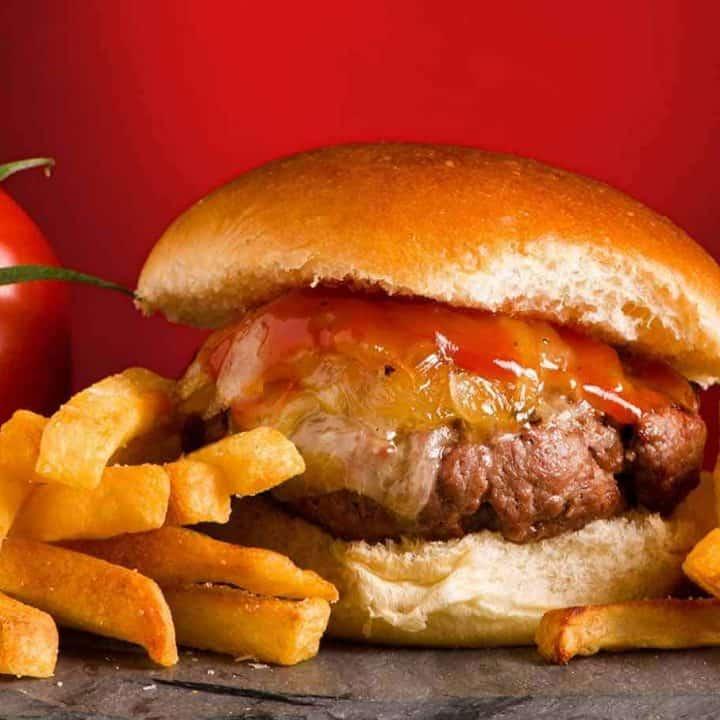 Vermont Cheddar Cheeseburger