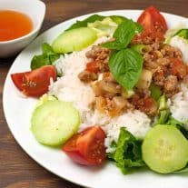 Vietnamese Ground Pork In Tomato Sauce