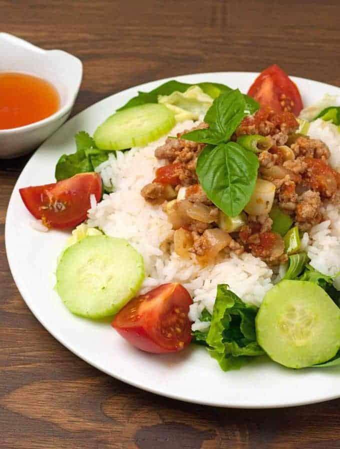 Vietnamese Ground Pork In Tomato Sauce