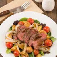 Warm Steak and Potato Salad