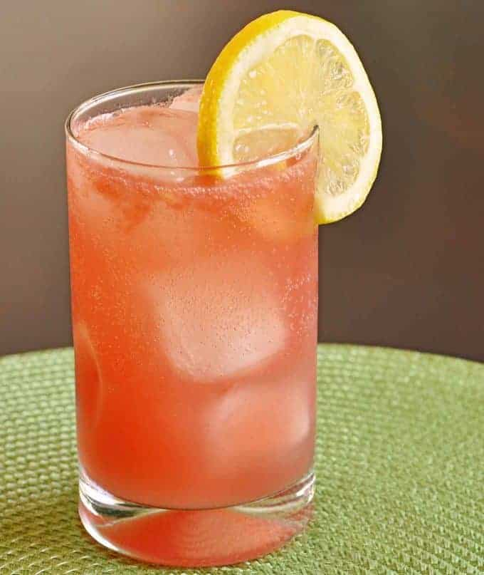Watermelon-Limoncello Collins