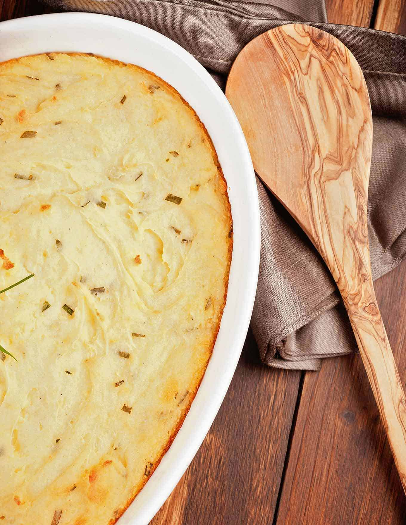Whipped Potato Casserole w/Sour Cream and Chives
